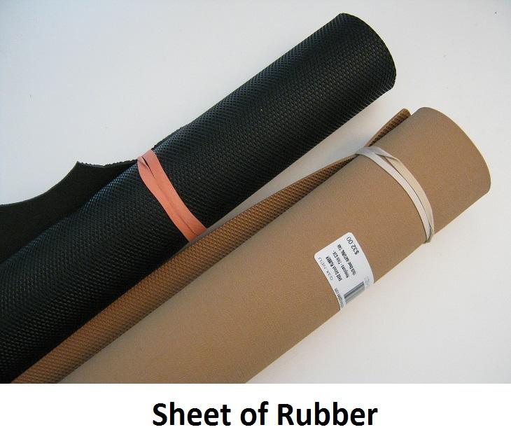 Sheet of Rubber